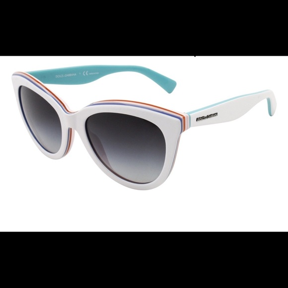 5f233141d4 Dolce & Gabbana Accessories - DOLCE GABBANA ,WOMENS CAT-EYE SUNGLASSES WHITE